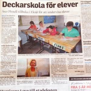Smålands-tidningen april 2015