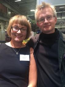 Jeanette Palm och Lars Wilderäng