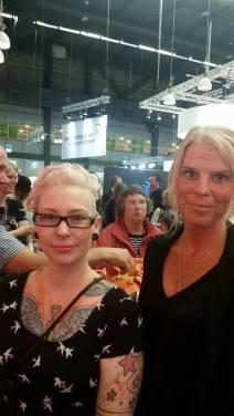 Anna Hansson och Emma Askling