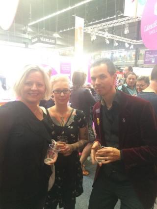 Mingel med Anna Hansson och Mårten Melin