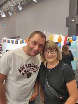 Jerker Hultén och Jeanette Palm