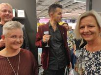 Med Ann-Charlotte Ekensten och Mårten Melin